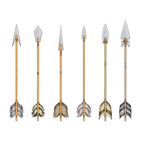 arrows of indians collection for hunting and war