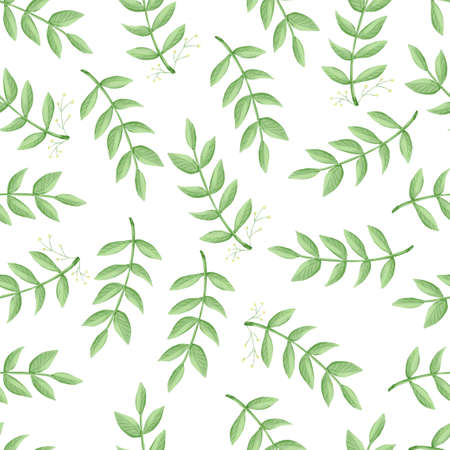 seamless pattern flowers, forest green, gray leaves garland, white background. Wedding invitation banner. Floral arrangement. 版權商用圖片