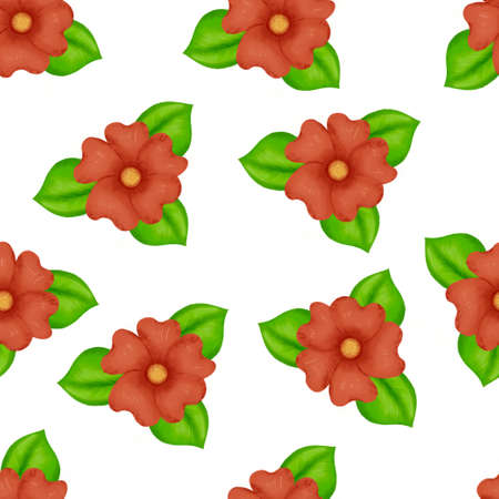 seamless pattern flowers, forest green, gray leaves garland, white background. Wedding invitation banner. Floral arrangement. Banque d'images