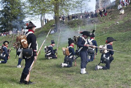 historical reflections: napoleonic battle commemoration in Italy on original site of Cosseria in 1796
