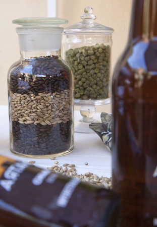 greediness: italian handmade beer, ingredients for realization