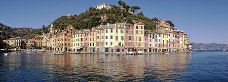 perl: portofino, italy, ligurian riviera Stock Photo