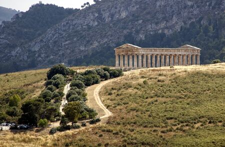segesta: the greek temple of Segesta