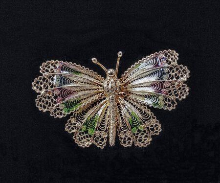 masterpiece: little masterpiece of art in golden or silver filigree