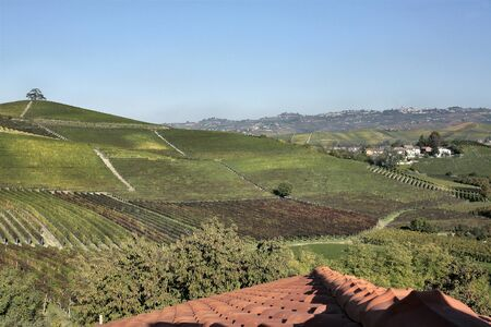 the land of barolo wine, italy