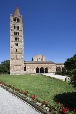 Abbey of Pomposa, Italy Stock Photo