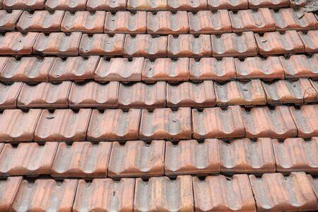 bricks on roof
