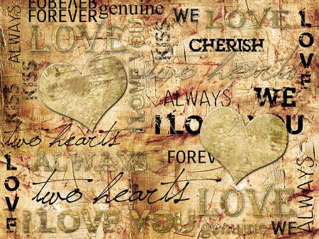 I LOVE YOU Background Zdjęcie Seryjne - 9981561