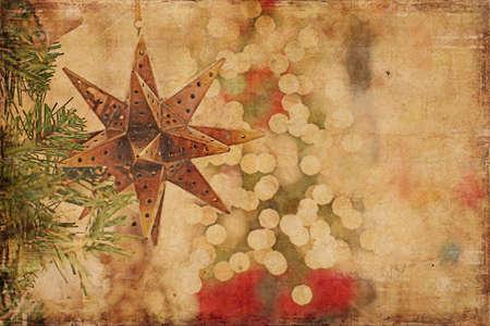 vintage background: Christmas Background Vintage Style
