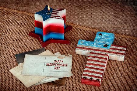 independencia: Fondo feliz Día de la Independencia Foto de archivo