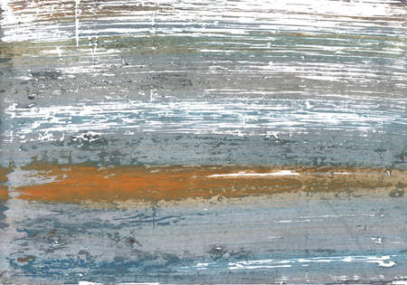 Hand-drawn abstract watercolor. Used colors: White, Spanish gray, Cadet grey, Roman silver, Quick Silver, Manatee, Metallic silver, Morning blue, Philippine gray, AuroMetalSaurus Stock Photo