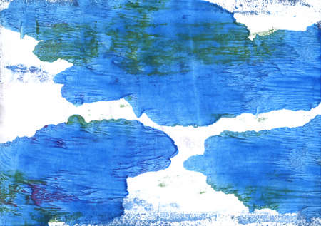 alice band: Hand-drawn abstract watercolor. Used colors: White, Bleu de France, Blue Jeans, Bright navy blue, Brilliant azure, Tufts Blue, Cyan-blue azure, Lapis lazuli, Very light azure