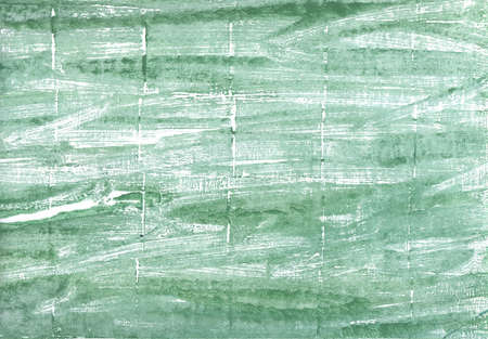 Hand-drawn abstract watercolor. Used colors: Turquoise green, Cambridge Blue, Oxley, Sea Foam Green, Eton blue, Morning blue, Dark sea green, Pastel blue, Columbia Blue