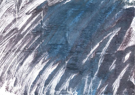 transitional: Hand-drawn abstract watercolor. Used colors: Charcoal, Independence, White, Metallic blue, Dark electric blue, Slate gray, Black Coral, Roman silver, Deep Space Sparkle