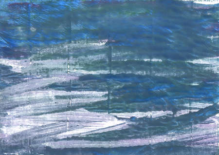 light slate gray: Hand-drawn abstract watercolor. Used colors: Metallic blue, Queen blue, Dark electric blue, Deep Space Sparkle, Ming, Wild blue yonder, UCLA Blue, Pewter Blue, Shadow blue Stock Photo
