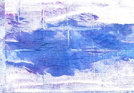 抽象的な水彩の手描き。使用した色: 白、コーンフラワー ブルー、韓青、国連ブルー、Jordy ブルー ゴースト白、フランスの空の青、マグノリア、キ