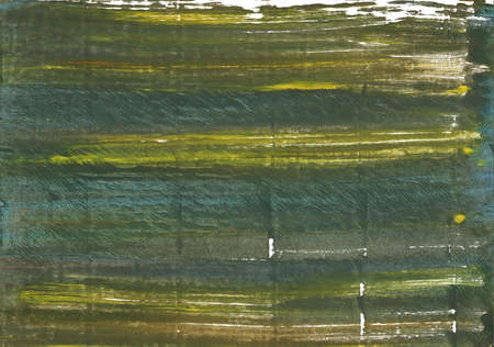 Hand-drawn abstract watercolor. Used colors: Rifle green, Gray-asparagus, Dark olive green, Ebony, Mustard green, Axolotl, Feldgrau, Outer Space, Army green, Old moss green