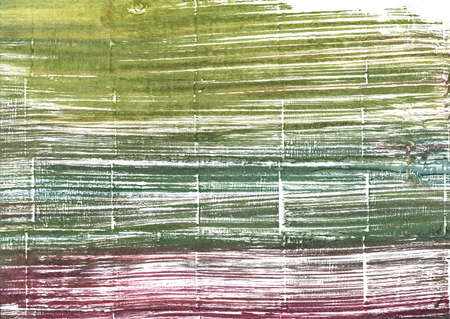 Hand-drawn abstract watercolor background. Used colors: White, Moss green, Old moss green, Axolotl, Camouflage green, Mustard green, Artichoke, Rifle green, Middle Green Yellow Stok Fotoğraf