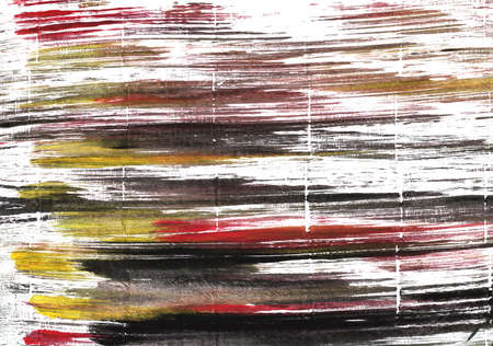 Hand-drawn abstract watercolor background. Used colors: White, Raisin black, Snow, Licorice, Wenge, Eerie black, Baby powder, Deep Taupe, Dark charcoal, Cinereous Stock Photo