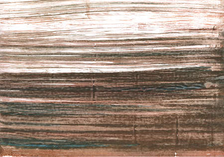 Handgetekende abstracte aquarel achtergrond. Gebruikte kleuren: Wit, Bever, Donkere lever, Pastelkleurig, Licht taupe, Donkere lava, Bleek taupe, Umber, Schaduw, Modder, Grullo, Koffie