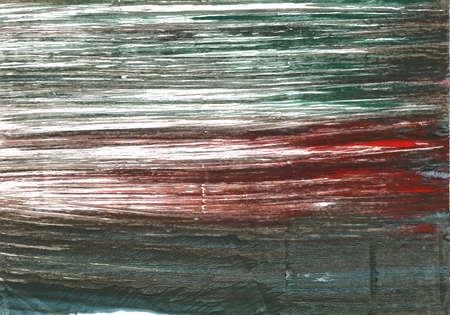 Hand-drawn abstract watercolor background. Used colors: Black olive, White, Ebony, Rifle green, Feldgrau, Gray-asparagus, Dark liver, Dolphin Gray, Outer Space, Morning blue Stock Photo