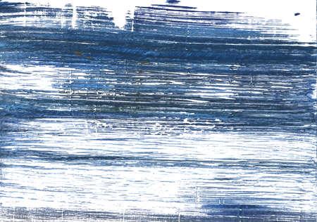 手描きの抽象水彩背景。使用した色: ホワイト、メタリック ブルー、インディゴ、UCLA 青、Blue yonder、アリスブルー、内張り、日本の藍、影青、Loeen  写真素材