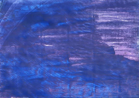 Hand-drawn abstract watercolor background. Used colors: Chinese blue, Liberty, Violet-blue, Dark slate blue, Han blue, Blue, Toolbox, Cerulean blue, Cosmic Cobalt