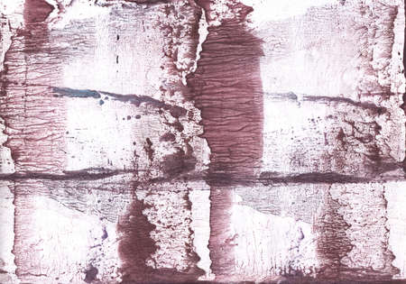 Vague work made on paper. Brown texture.