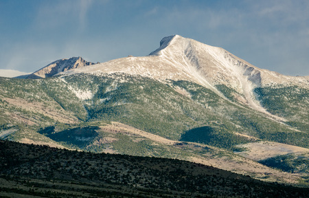 The Pinnacle of Great Basin National Park. 13,065 ft - 2nd Tallest in Nevada