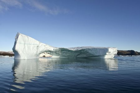 arctic waters: Iceberg in arctic waters