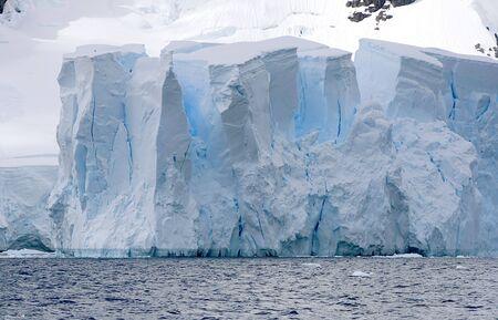 scot: Front of a glacier in Paradise Bay, Antarctica