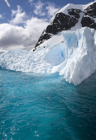 scot: Iceberg in Paradise Bay, Antarctica Stock Photo