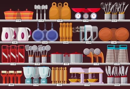 Kitchen appliances or kitchen utensil at shop Reklamní fotografie