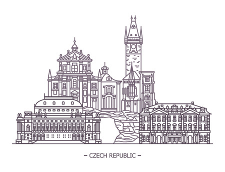 Landmarks of czech republic