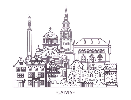 Latvian architecture buildings