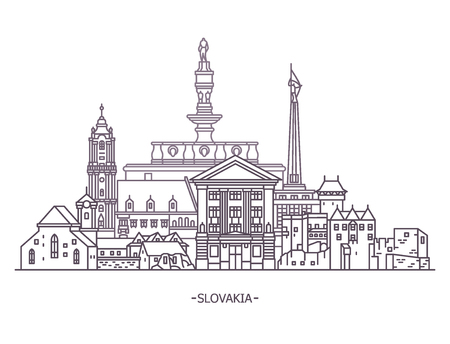 Slovakia historical monuments