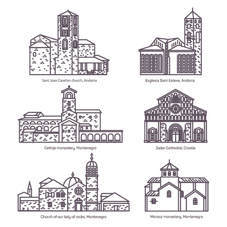 Set of isolated churches of Montenegro, Andorra