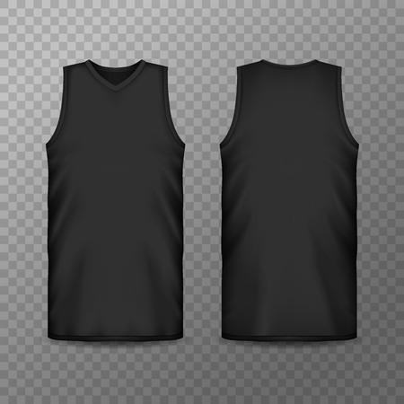 3d or realistic blank sport clothing for men