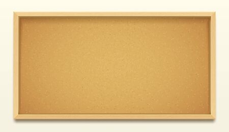 Cork board wood frame background, pin noticeboard