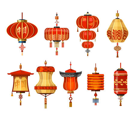 Chinese lantern lamps, China New Year decoration