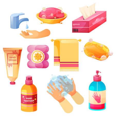Hand hygiene, wash or clean, personal care bathing
