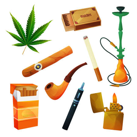 Tobacco products, cigar or cigarette, smoking pipe
