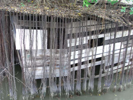 old shack near Malacca river