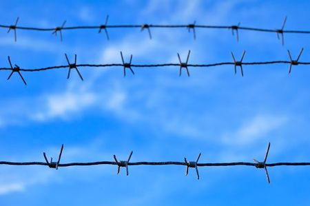 Barbed Wire Stock Photo - 8019987
