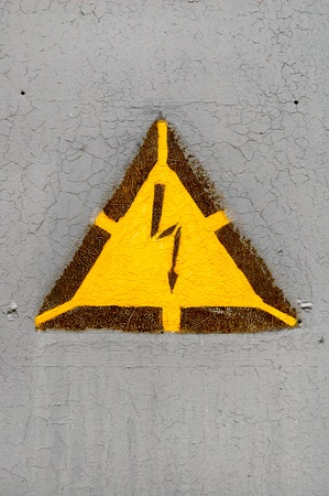 high voltage sign Stock Photo - 8573713