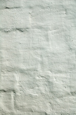 The old brick wall in plaster for background. Stock Photo