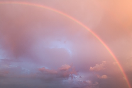 Beautiful rainbow  photo