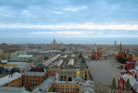 Center of Moscow Stock Photo - 14167016