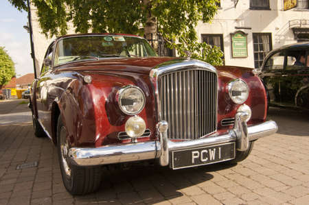 brigg: SONY DSC 03407. This image of a 1961 Bentley S2 Coupe, was taken at a classic car rally in Brigg, Lincolnshire, UK. The best of British engineering. Editorial