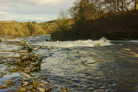 ure: The attractive village of Aysgarth is best known for it